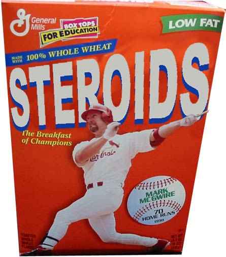 Mark McGuire, Steroids Poster Boy -- Cheesegod.com