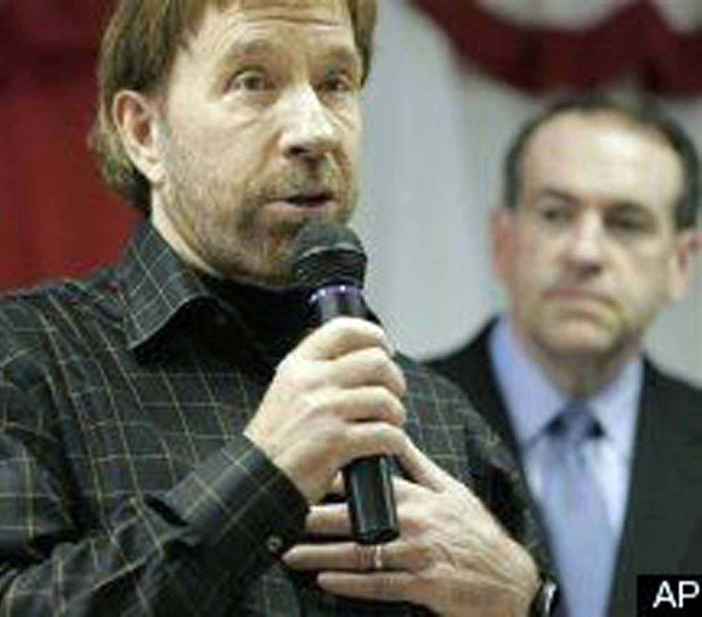 Chuck Norris Tapped To Stop