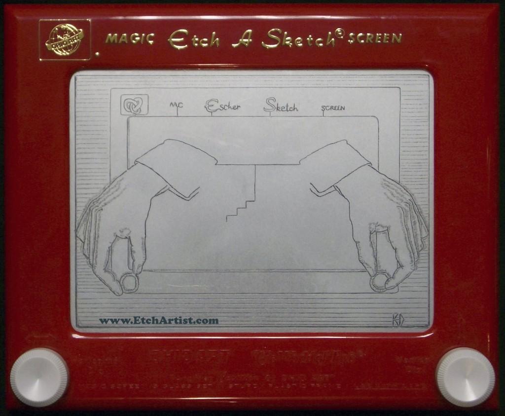 - Esher Sketch