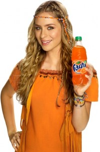 Fanta, a favorite of both Nazis and Hippies.. apparently.
