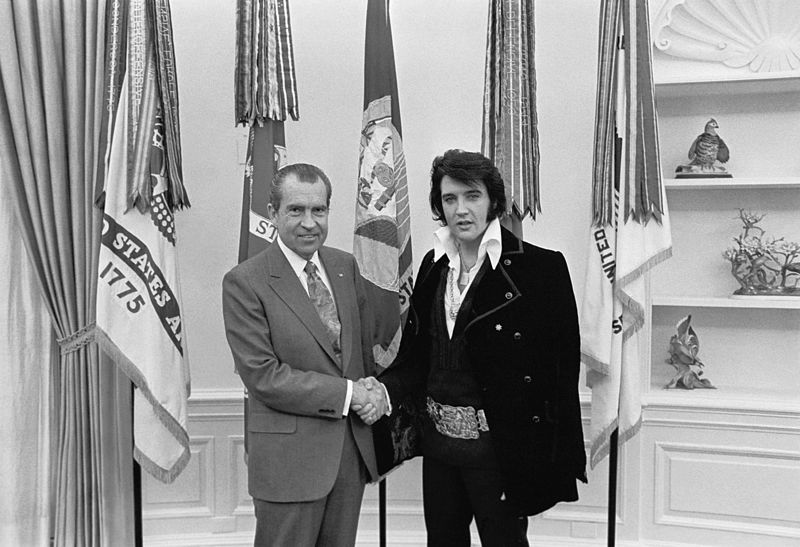 Elvis-nixon
